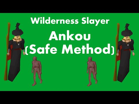 Wilderness Slayer - Ankou (Safest Method)
