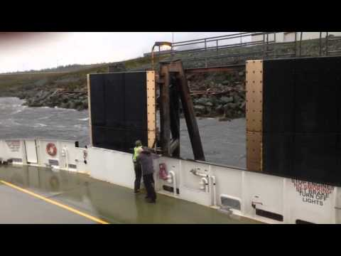 Scary day in storm for Ketchikan Airport Ferry Crew.