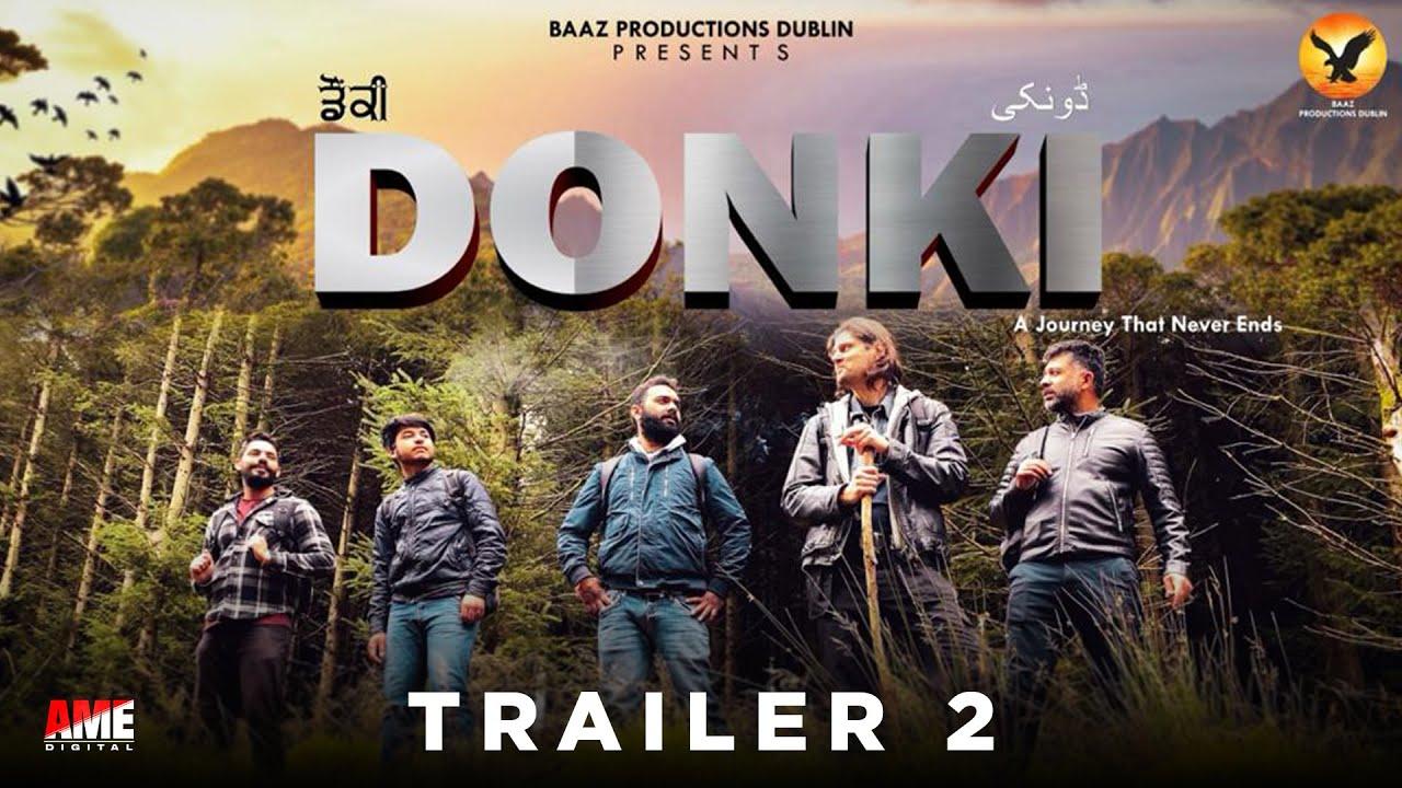 Download DONKI - ਡੌਂਕੀ [Short Film Trailer-2]  Baaz Productions Dublin | Full Movie Coming Soon