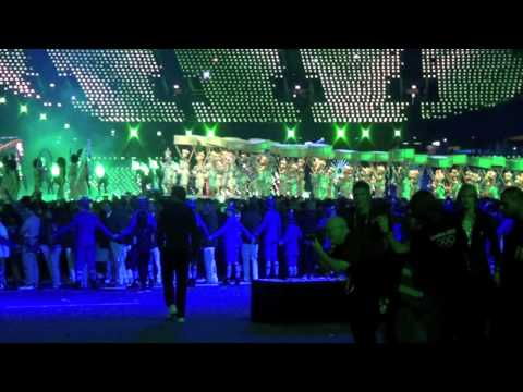 London 2012 Olympics Rio Flag Handover - Part 2: The Show