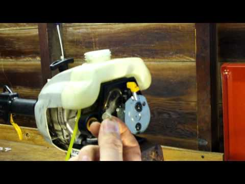 Fuel Line Configuration On 2 Cycle Ryobi Grass Trimmer - YouTube
