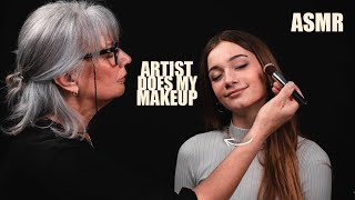 ASMR - MAKE-UP ARTIST does my MAKE-UP! (Makeup tutorial)