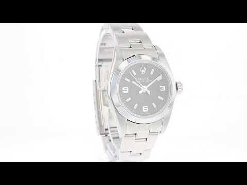 Pre Owned Watch Oyster Perpetual Ref 76080