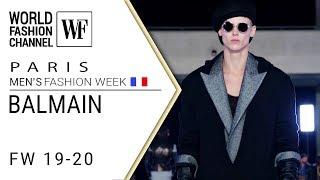 Cover images Balmain Fall-winter 19-20 Paris men's fashion week