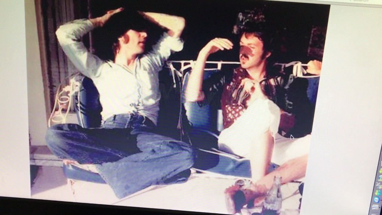 John Lennon Paul McCartney Hanging Out In The 70s