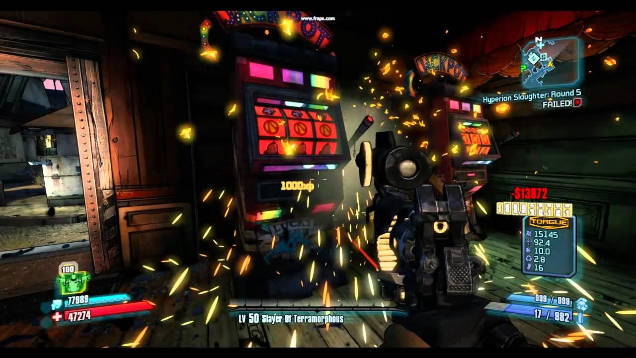 Borderlands 2 slot machine jackpot every time