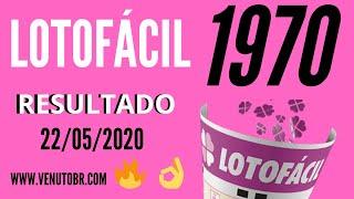 🍀 Resultado Lotofácil 22/05, Resultado Da Lotofácil Concurso 1970
