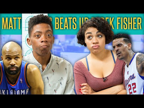 Matt Barnes Fights Derek Fisher For Dating Ex-Wife - The Drop Presented By ADD