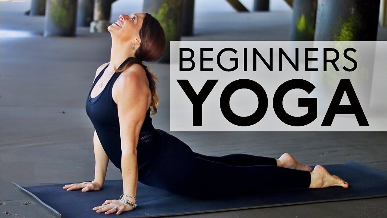 20 Minute Hatha Yoga For Beginners | Fightmaster Yoga Videos