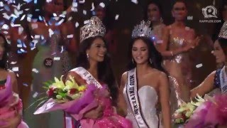 Maxine Medina is crowned Miss Universe Philippines 2016