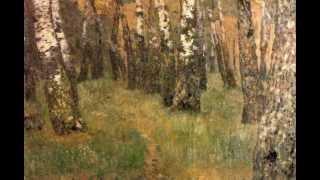 видео Картина Левитана Осенний день Сокольники