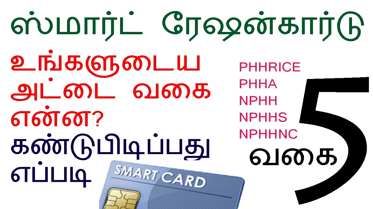 TNPDS | HOW TO | CHECK YOUR | SMART RATION CARD