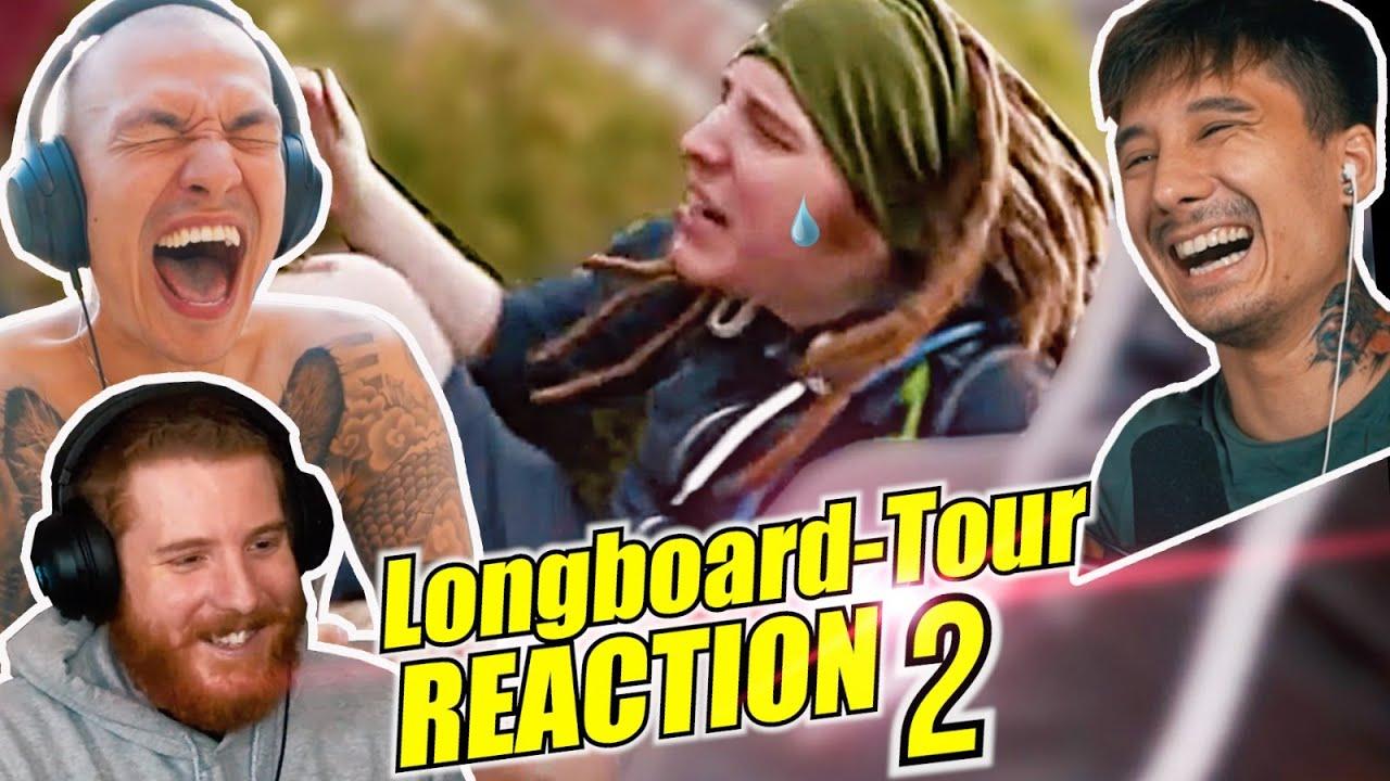 6 Jahre LONGBOARD TOUR mit Unge Cheng und Bulien (Reaction Teil 2)