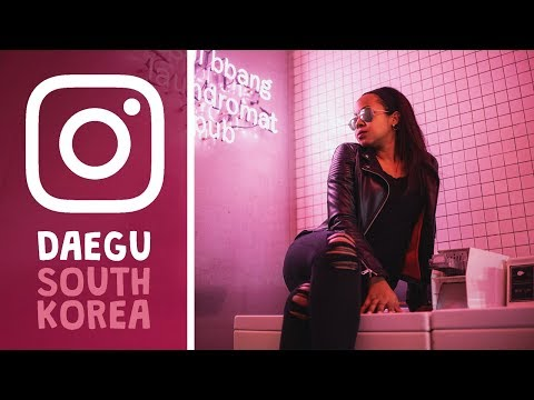 Most Instagrammable Places in DAEGU │ TRAVEL VLOG