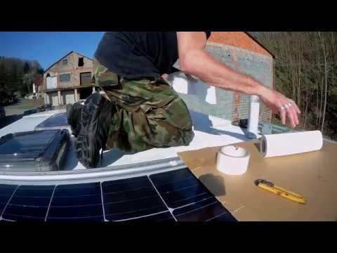 preiswerte solaranlage f r wohnmobil oder wohnwagen. Black Bedroom Furniture Sets. Home Design Ideas