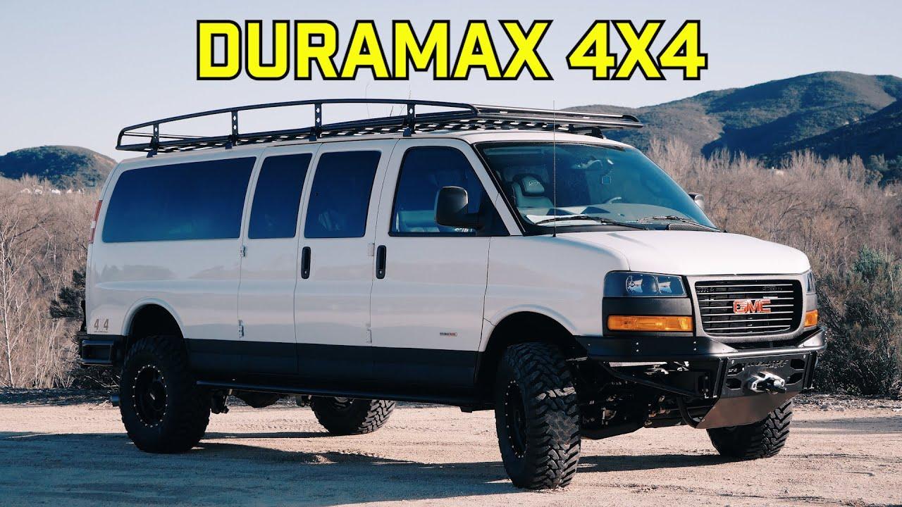 GMC Savana 2.8L Duramax 4x4 Conversion, Mr. Potato Van ...