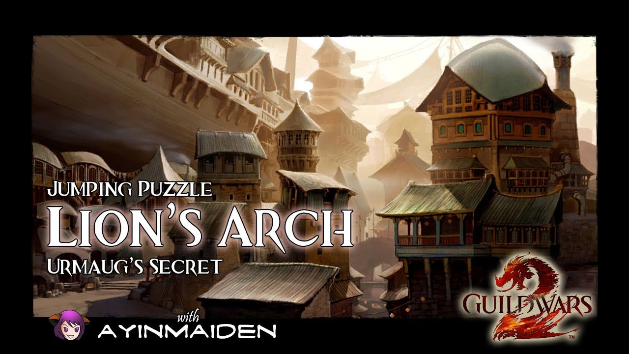 ☆ Guild Wars 2 ☆ - Jumping Puzzle - Lion\'s Arch (Urmaug\'s Secret ...