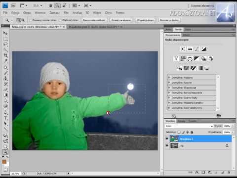Photoshop Tutorial Pl Kolorowanie Zdjęcia Youtube