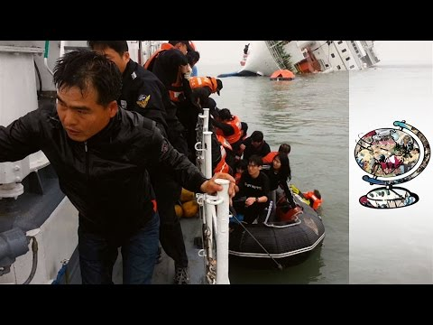 Uncovering The Web Of Intrigue Surrounding The Sewol Ferry Disaster (2014)