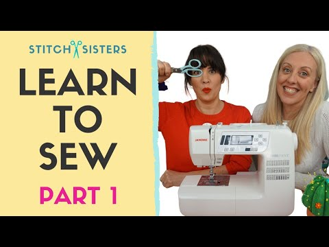 Learn To Sew | Beginner Sewing Course - Part 1