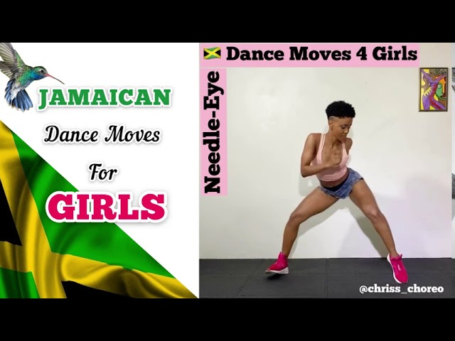 Jamaican Dance Moves - Girls Only - YouTube