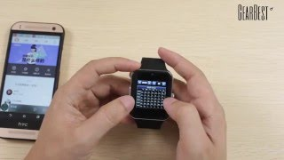 Aiwatch Smart Watch Phone - Gearbest.com
