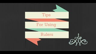 tips for using a ruler on a longarm