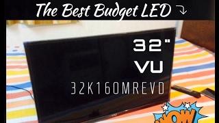 Vu 80cm (32) HD Ready LED TV 32K160MREVD REVIEW