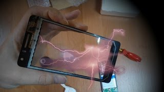 видео Глючит сенсор на китайском телефоне