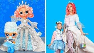 Download Превращаю себя в рождественскую ЛОЛ / Куклы ЛОЛ в реальной жизни – 11 идей Mp3 and Videos
