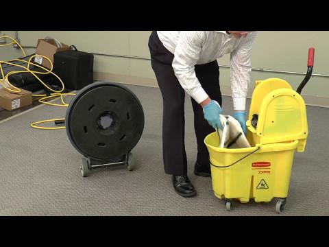 Carpet Maintenance - Spin Bonnet