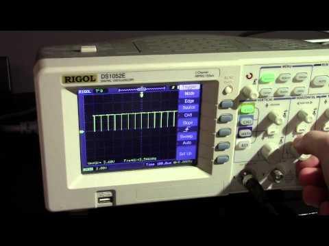 Rigol DS1000Z Series - DS1074Z-S Waveform Update Rate