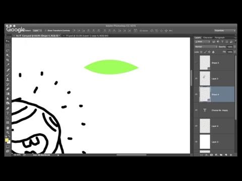 Basics of designing on photoshop
