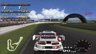 PCSX2 Driving Emotion Type-S Tsukuba Circuit - Castrol Supra GAMEPLAY!