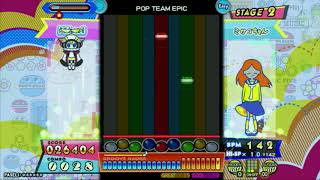 POP TEAM EPIC  (EASY) / ポップン【※映像のみ】