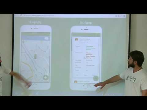 Event-based carpooling and taxi ordering in one app : Haykaz Bagratyan