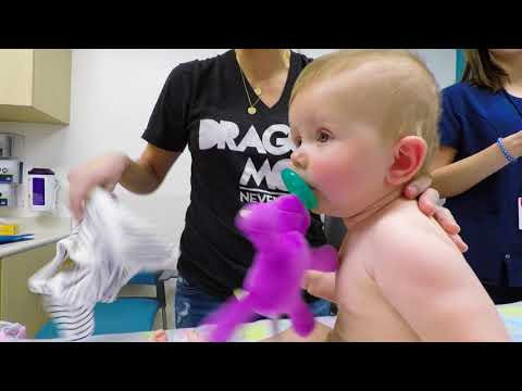 Evie's 6th Shot of Spinraza