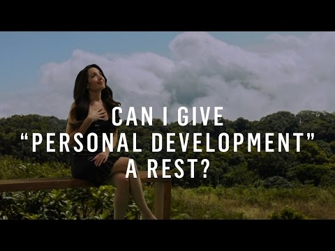 Personal Development: Can I Give
