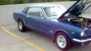 1965 ford mustang for sale $6500 firm in Oklahoma. 289 v8 power steering runs great
