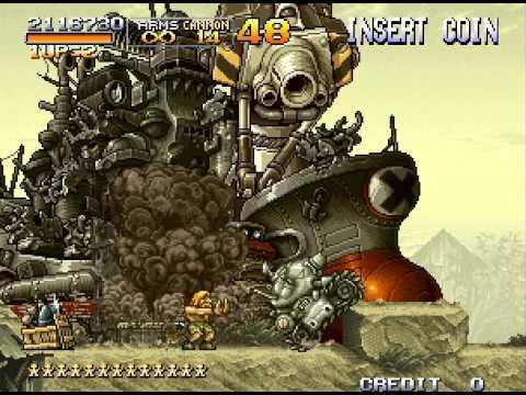 Metal Slug X: Super Vehicle-001 Walkthrough/Gameplay Neo Geo