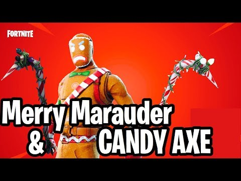 Merry Marauder And Candy Axe Pickaxe Gameplay