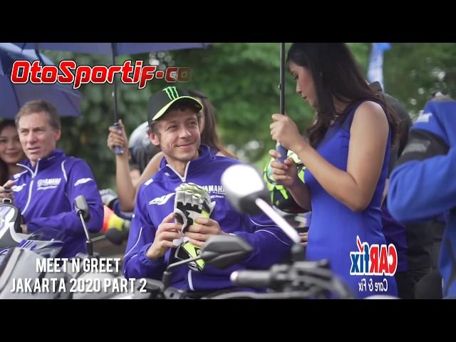 VIDEO FULL VALENTINO ROSSI & VINALES DI JAKARTA. PART 2. RESMIKAN TIM BALAP INDONESIA