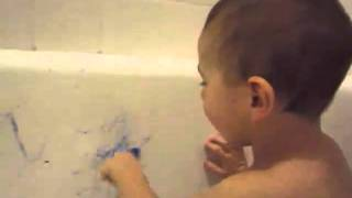 giggle box in the bathtub
