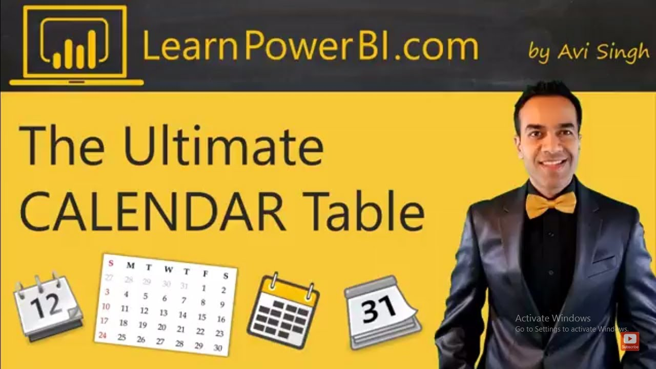 Power BI: The Ultimate Calendar Table