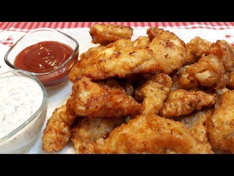 Evde KFC tavuk nasıl yapılır - çıtır kaplamalı tavuk - en çıtır tavuk bu tavuk - Yemek Tarifleri