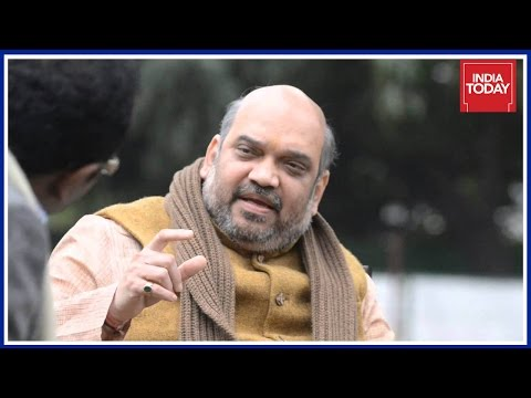 BJP Chief, Amit Shah Exclusive Interview To Indian Today