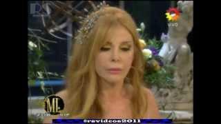 La pelea de Mirtha Legrand y Graciela Alfano en