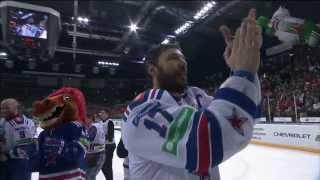 Последние секунды сезона КХЛ 2014/2015 / Last seconds of KHL 7th season