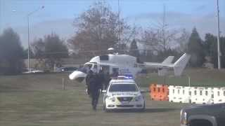 New Zealand Police Special Tactics Group And Dog Team Demonstration