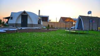 Теплый дом. Дом сфера. Стоимость от 5000 у.е.(Энергоэффективный дом. Нет отопления, только небольшой камин. Затраты на отопление составили 4м.куб. дров..., 2016-03-15T08:00:30.000Z)
